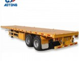 3-Axles 40FT Flatbed Container Semi-Trailer Cargo Trailer for Sale
