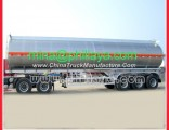 2/3/4 Axles Truck Semi Pure Aluminum Tanker Trailer with Chassis