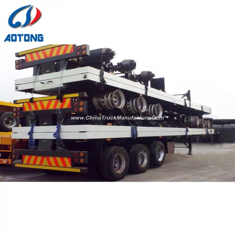 5c57292fbf 40 FT Flatbed Trailer