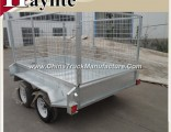 Best-Selling Heavy Duty Tandem Axle Box Trailer with Cage