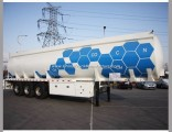 ISO Csc Chemical Corrosive Poisonous Liquid Shipping Tank Trailer