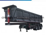 3 Axle Cimc Dump Trailer Truck Trailer for Sale