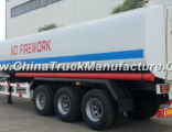Tri Axles 40000L Fuel Oil Tanker Semi Trailer for Sale