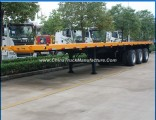 3 Axle 45FT/40FT Container Loading Flatbed Trailer