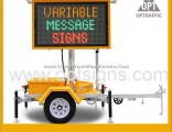 2 Cost Effective Solar Powered Variable Message Signs Vms Trailer