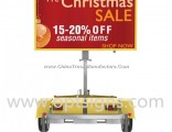 LED Advertising Board Variable Messsage Signs Portable Vms Trailer