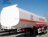 Hot Sale 40-60m3 Oil Fuel Tanker Semi-Trailer
