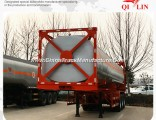 Factory Price ISO 40FT Container Oil Tanker Semi Trailer