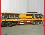40ft Flatbed Cimc Optional Container Trailer for 60tons