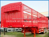 Factory Sale 3 Axle Storehouse Trailer Warehouse Semi-Trailer with Gooseneck