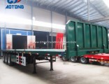 New 40FT Container Trailers/Flat Bed Semi Trailer (front frame optional)