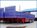 40FT 45FT Side Wall Semitrailer 40ton Drop Side Trailer