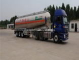 Fuhua/BPW Axles 50cbm Aluminum Fuel Oil Tanker Truck Semi Trailer