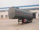 Flywheel Factory Edible Oil Tank/Tanker Semi-Trailer with Thermal Insulation Layer