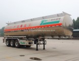 Flywheel 3 Axle Diesel/Crude Oil/Petrol Fuel Aluminium Tanker Semi Trailer