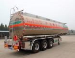Manufacture Aluminium Alloy Oil/Fuel/Gasoline Oil Tank/Tanker Truck Semi Trailer