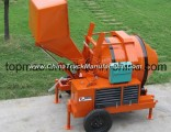 Jzc500 Concrete Mixer With Hydraulic Tipping Hopper (RDCM500-8EH)