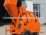 Yanmar Diesel Concrete Mixer With Mechanical Tipping (JZR350)