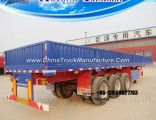 Wholesale Factory 3-Axles Side Wall Semi Trailer for Sale