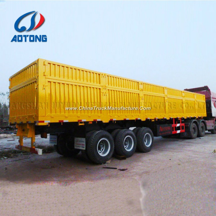 e9d91f1a73 Van Type 2 3 Axles 30t-80t Transport Wagon Truck Cargo Utility Trailer