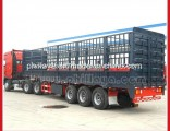 Fence Cattle Livestock Tranport Semi Trailer From Chinese Manufacturer