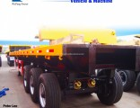 Tht 3 Axle Flat Bed Semi-Trailer