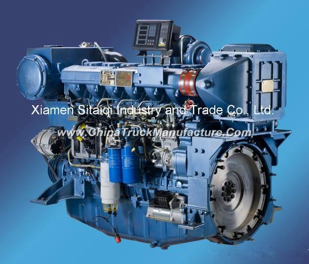 Weichai Wp12c450-21 (450HP/2100rpm) Marine Diesel Engine for Boat