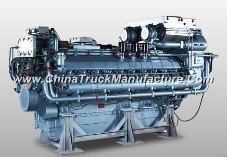 2900kw China Hnd/Deutz V20/4stroke Marine Diesel Inboard
