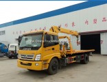 Foton 4X2 Truck with Crane 10 Tons Used Truck Mounted Crane