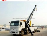 HOWO 8X4 10 Wheel Recovery Truck Vehicle 50ton Rotator China Wrecker Tow Trucks for Sale