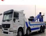 Sinotruk HOWO 8*4 371HP 25tons Wrecker Truck Heavy Duty 12 Wheels Towing Truck for Sale
