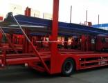 FAW Brand 3 Axles 5units Car Carrier Truck Car Hauler Auto Truck