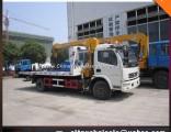 DFAC Light Duty 4X2 4ton Wrecker Truck Mounted Crane 3.5 Ton