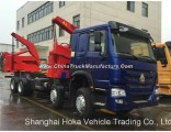 Sinotruk HOWO Road Recovery Vehicle Wrecker Side Loader Truck