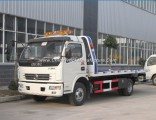 Dongfeng 4X2 Diesel Flatbed Street Wrecker 5ton-8tons Road Recovery Trucks for Sale