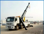 HOWO 8X4 30ton Towing Truck 360 Degree Fully Rotation Crane 30ton Wrecker Truck