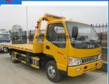 Isuzu 4X2 Platform Towing Truck Wrecker Truck 5 Ton