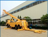 Heavy Duty Sino Truck HOWO 8X4 371HP 360 Degree Rotation 50 Tons Wrecker Tow Trucks for Sale