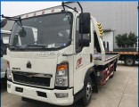 HOWO Small 3tons Road Recovery Truck 4t Flatbed Tow Truck