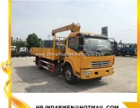 Load 5ton Dongfeng Crane Truck for Sale