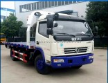 China Manufacturer Small Dongfeng 6-Wheel 3 Ton 4t Flatbed Tow Truck for Sale