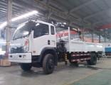 Sinotruk Cdw 4X2 Light Mounted Truck Crane 8 Ton Truck Crane