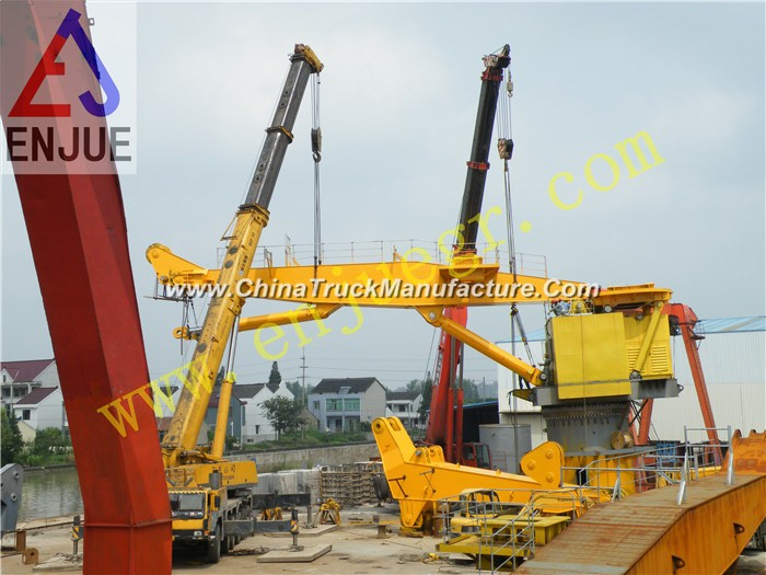 Knuckle Boom Truck Mounted Crane Mobile Crane for Sale 100t
