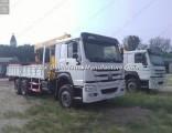 Sinotruk HOWO 6X4 Truck Mounted Crane Truck Crane