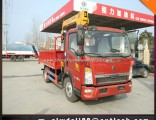 Truck Mounted Crane with 15 Tons Loading of Crane, 8*4 Truck Crane for Hot Sale