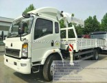 Sinotruk HOWO 5 Ton HOWO Truck Mounted Crane