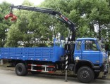 HOWO 8X4 Truck Mounted Crane with Grapple