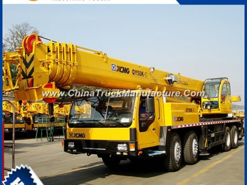XCMG 50 Ton Portable Truck Mounted Mobile Crane Qy50ka in