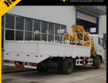 Dongfeng 6 Ton Small Telescopic Boom Truck Mounted Crane Sq6.3K3q for Sale