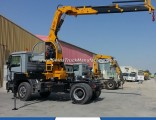 Tractor Mounted Hydraulic Floor Crane Truck with 15 Tons
